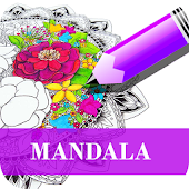 Mandala Coloring Pages App