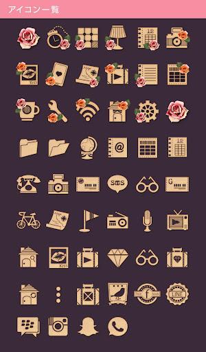 Vintage French-無料着せ替えアプリ 玩個人化App免費 玩APPs