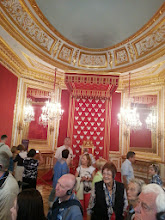 Photo: Fancy seats for pompous asses. Thta's what I think of thrones. This would be the first of several palaces that we visited (it was also the smallest), and with each one I would get more and more annoyed at the idea of royalty in general.