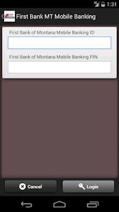 First Bank MT Mobile Banking- screenshot thumbnail