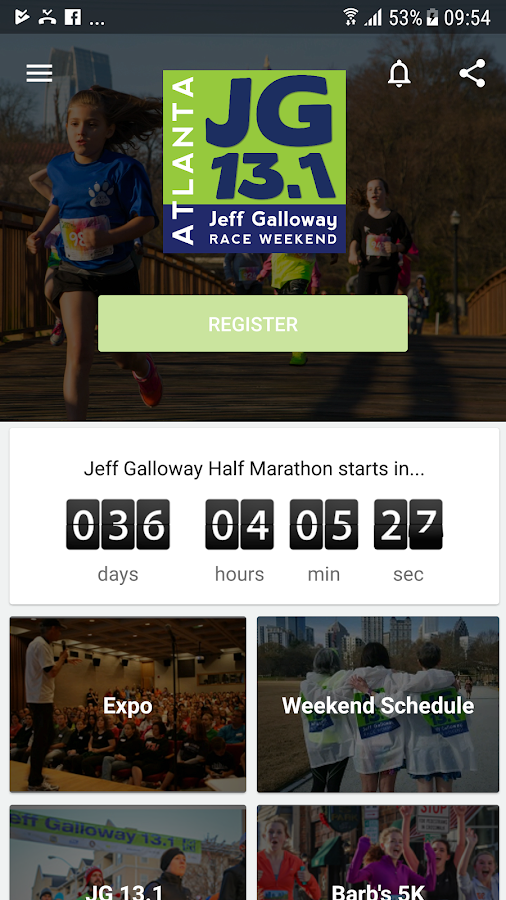 Jeff Galloway Half Marathon- screenshot
