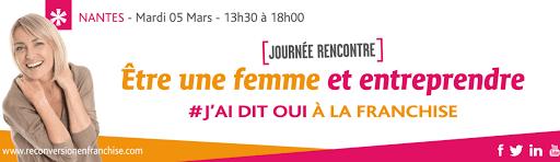La franchise pour les femmes à Nantes Loire Atlantique