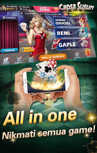 Capsa susun poker bonus  remi  gaple domino online screenshots 5