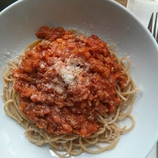 Camp David Spaghetti with Italian Sausage Recipe