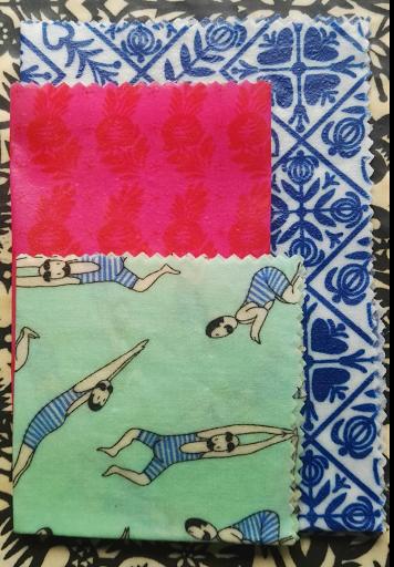 tissu et sketchnote breton