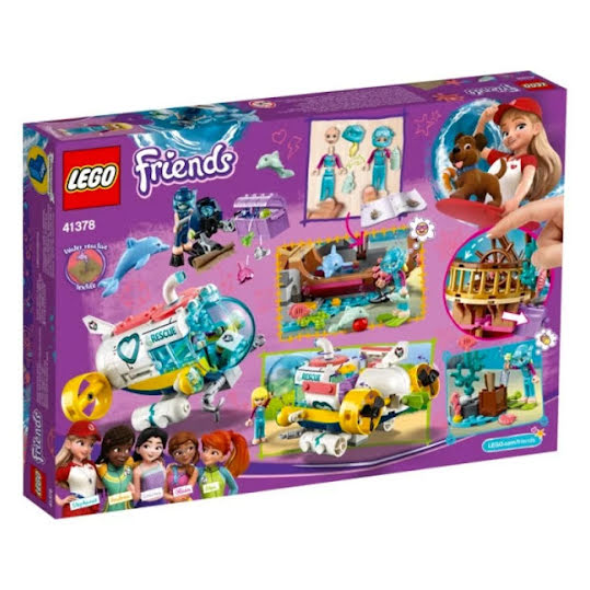 Lego Friends - Redningsoppdrag for delfiner 41378