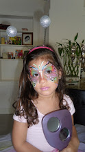Photo: Original Face Painting by Paola Gallardo from http://www.BestPartyPlanner.net