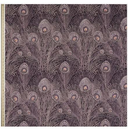Hera Feather Linen Ladbroke Dragonfly från Liberty Interior Fabrics