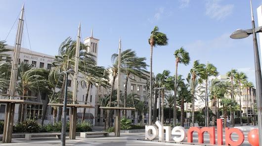 Más viento en Almería: aviso amarillo por rachas de hasta 80 km. por hora