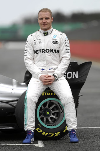 Next level: New Mercedes driver Valtteri Bottas has been dreaming of winning the F1 title since the age of six. Picture: REUTERS
