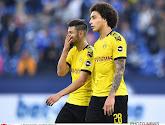 Borussia Dortmund speelde gelijk tegen de rode lantaarn