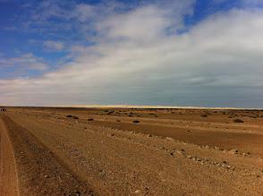 Photo: First sand dunes