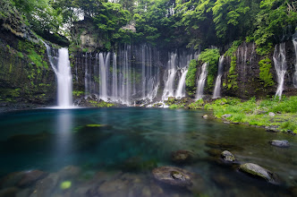 Photo: Shiraito Falls & New Video Tutorial  Several weeks ago I had a meeting down in Shizuoka that went into the afternoon, but left just enough time to visit the nearby Shiraito Falls. I had finally purchased an ND filter and was ready to give it a try. The falls did not disappoint! This was one of my favorites from my trip, but there are several more at my blog. There's also a new video tutorial I did showing how I edit my photos using Lightroom, so hope you'll check it out!  Blog post: http://lestaylorphoto.com/shiraito-falls/  #japan #travel #waterfalls
