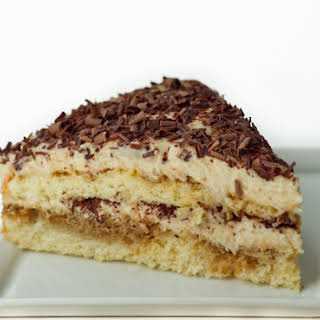 {12} Decadent Days of Christmas {12} White Russian Tiramisu Cake.