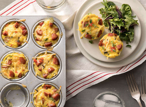 Mini Hillshire Farm® Smoked Sausage and Potato Frittatas