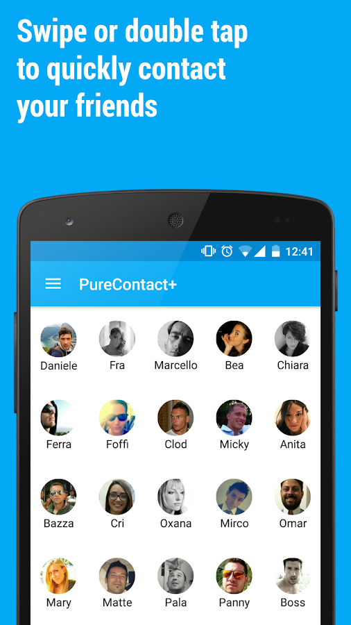 PureContact+- screenshot