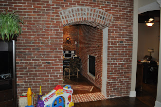Photo: (Before) Haviland's Brick walls and doorway Philadelphia, PA