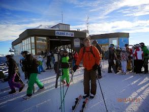 Photo: wieder auf die Piste..auf dem Weg zum Skirennen