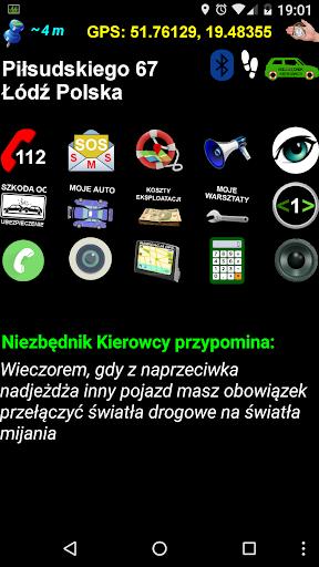 Niezbu0119dnik kierowcy - asystent 2.8 screenshots 1
