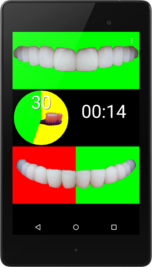 Toothbrush Pacer- screenshot