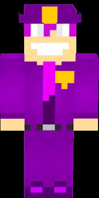 A skin of Purple Guy
