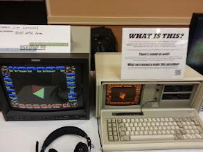 Photo: IBM PC running 8088MPH demo