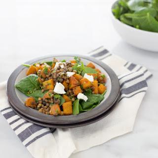 Roasted Squash and Lentil Salad