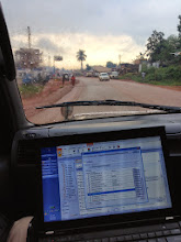 Photo: Working on the road