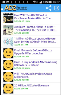 ADZbuzz Project screenshot