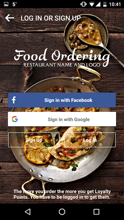 Food ordering android apps on google play for Order food to go