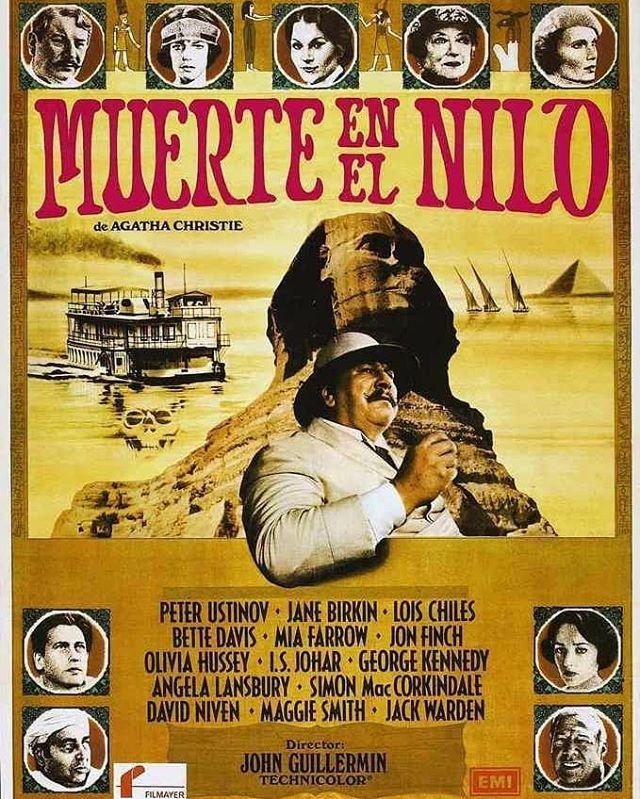 Muerte en el Nilo (1978, John Guillermin)