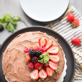 Cabernet Dark Chocolate Cake Recipe