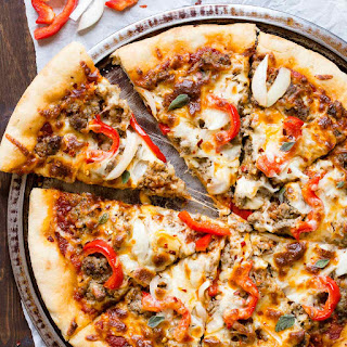 Spicy Sausage Pizza.