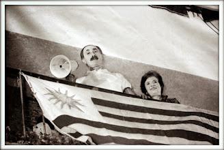 Photo: Marcas de la Memoria (21) Ex casa del general Líber Seregni, detenido el 9 de julio de 1973. El día de su liberación, 19/03/1984 (foto Nancy Urrutia, MuMe).