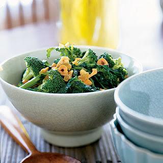 Broccoli Salad with Sesame Dressing and Cashews
