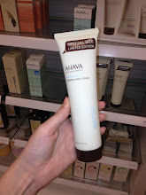 Photo: I love Ahava products. I didn't realize Sears has a whole make-up and lotions section in the store. It would be easy to find some Mother's day gifts there.