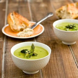 French Farmhouse Asparagus Bisque