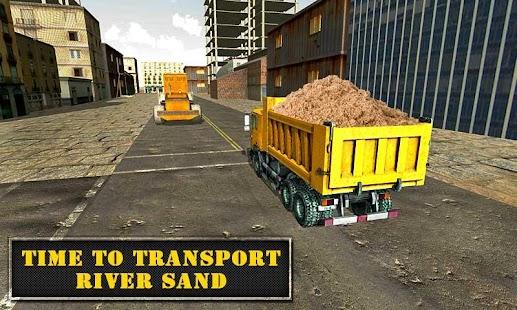 River-Sand-Excavator-Simulator 13