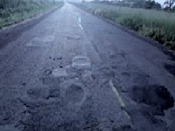 Photo: Potholes on Lichau Road