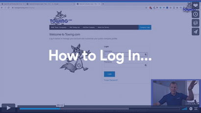 how to log