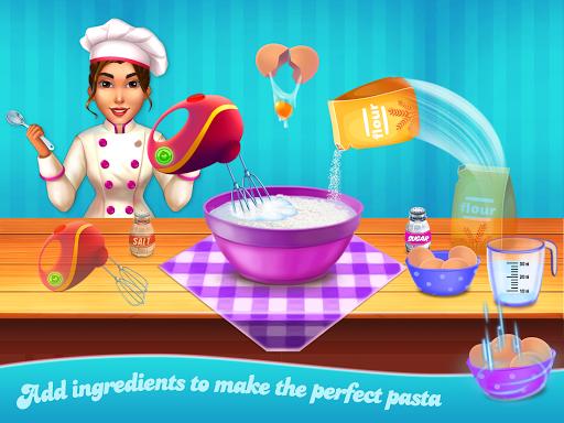 Make pasta cooking kitchen apktram screenshots 6