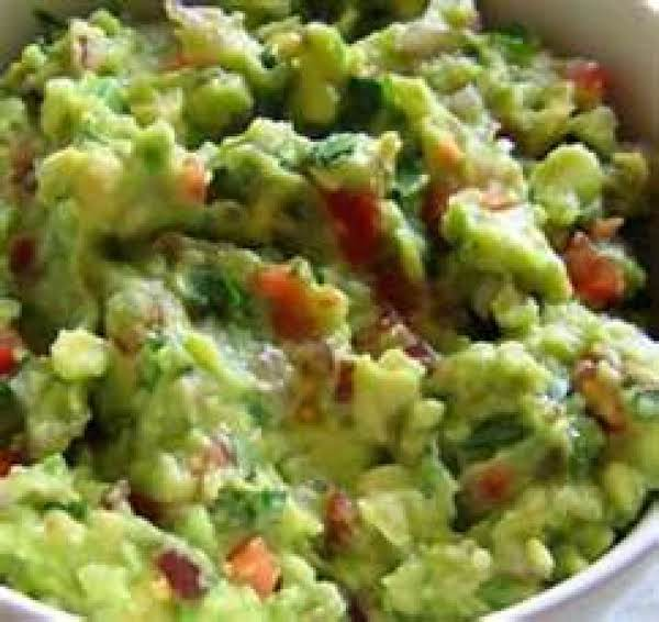 Low Fat Guacamole Dip Recipe