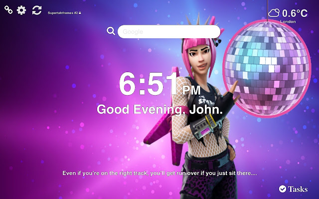 Power Chord Fortnite Wallpapers New Tab