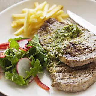 Minute Steak with Cafe de Paris Butter.
