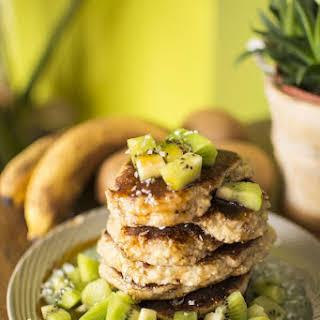 Millet Coconut Pancakes.
