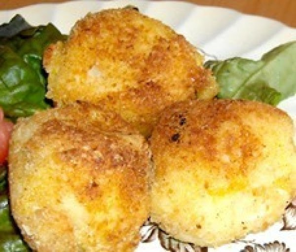 Chicken, Potato Croquettes Recipe