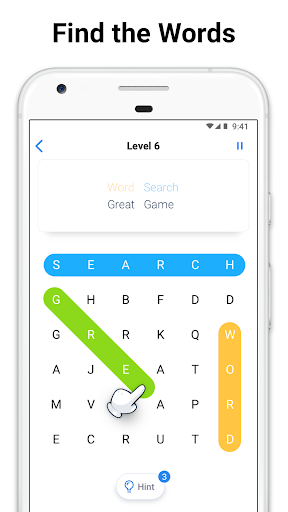 Word Search - Free Crossword and Puzzle Game apkpoly screenshots 1