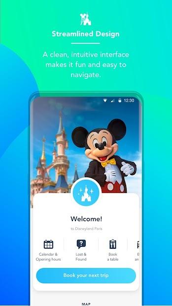 Disneyland® Paris Android App Screenshot