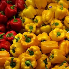 Peppers by Francis Xavier Camilleri - Food & Drink Fruits & Vegetables