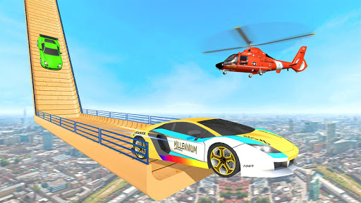 Ramp Car Stunt 3D : Impossible Track Racing 2 android2mod screenshots 3